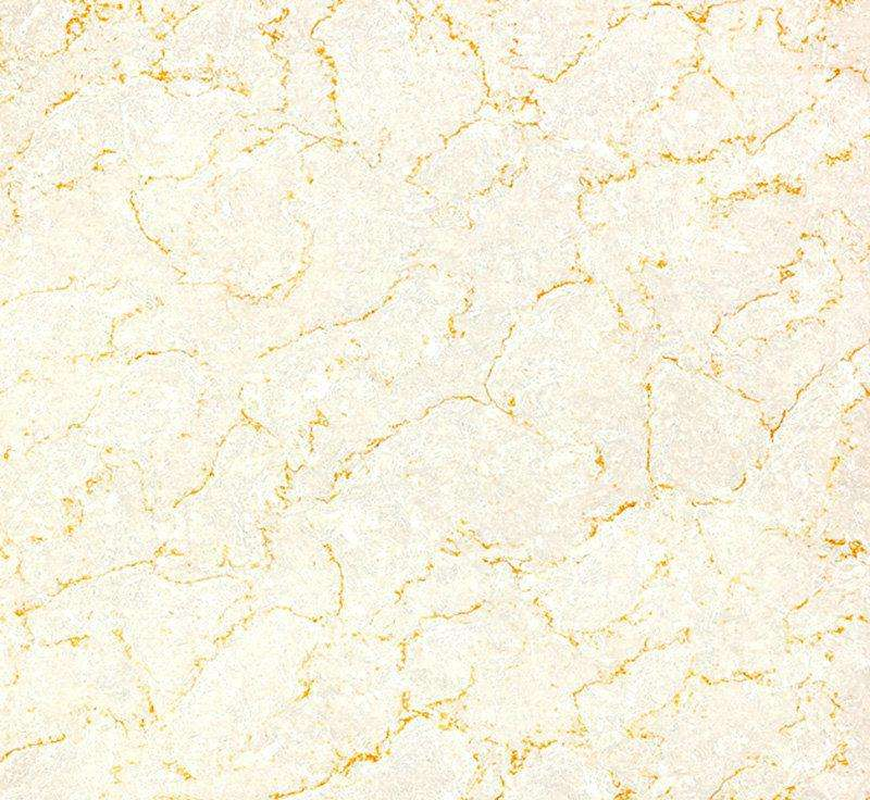 Gold stone polished floor tiles